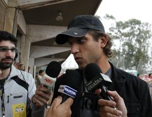 Rafael Moura, atacante do Inter (Foto: Diego Guichard / GLOBOESPORTE.COM)