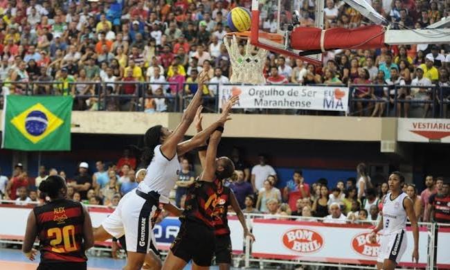 Maranhão Basquete e Sport, pela LBF, no Castelinho (Foto: Biaman Prado/MB/Divulgação)