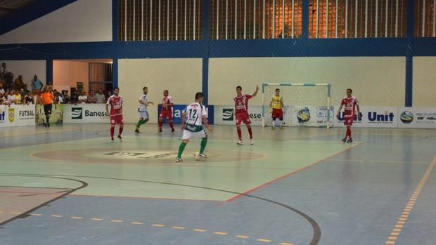 Seleções ficaram no empate no jogo de ida das semifinais (Foto: Paulo Ricardo/Papajaca)