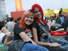 Noite do metal no Rock in Rio reúne roqueiras estilosas