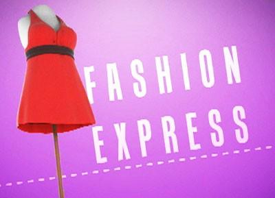 logo fashion express (Foto: Mais Você / TV Globo)
