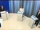 Raquel Lyra e Tony Gel participam de debate na TV Asa Branca em Caruaru