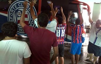 Luiz Antônio quer que Bahia se imponha em campo contra o CRB
