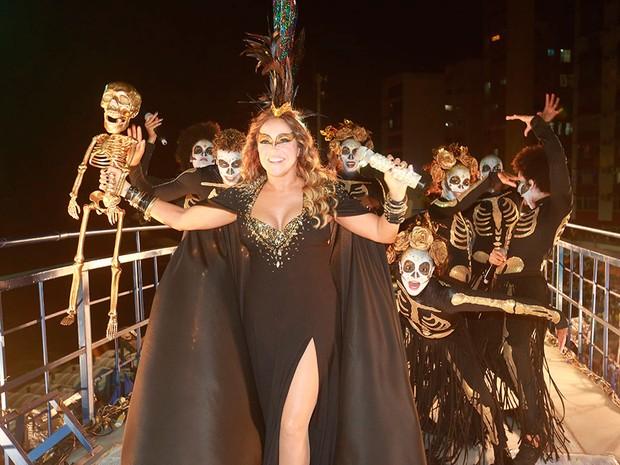 Daniela Mercury na Barra (Foto: Mauro Zaniboni /Ag Haack)