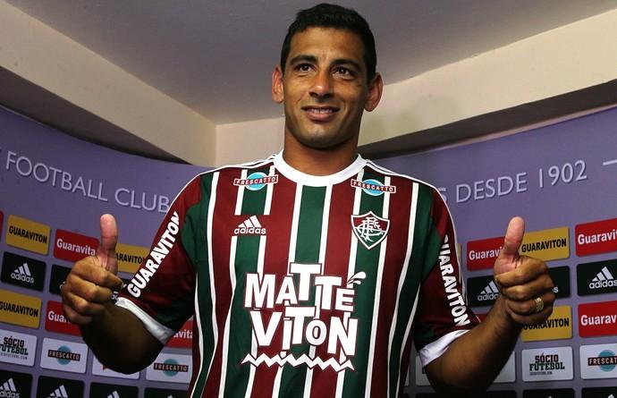 diego souza fluminense apresentação (Foto: Nelson Perez / FluminenseFC)