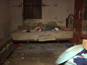 idosa estava vivendo em condições desumanas (Foto: Reprodução/TV Mirante)