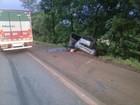 Mãe e filha morrem em acidente na BR-285 em Entre-Ijuís, RS