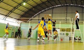 Vilhena se destaca na 2ª Etapa do Festival Mirim de Voleibol (Foto: Rogério Perucci/GLOBOESPORTE.COM)