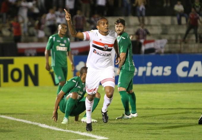 Isac atacante Botafogo-sp (Foto: Rogério Moroti/Agência Botafogo)