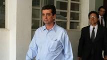 Presidente licenciado da Samarco é ouvido pelo MP (Pedro Ângelo/G1)