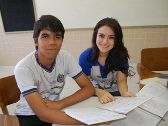 Sérgio e Kassya pretendem ir ao cinema para 'dissipar' nervosismo. (Foto: Katherine Coutinho/G1)