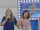 Família P&G faz parte da vida de Andressa (Domingão do Faustão/TVGlobo)