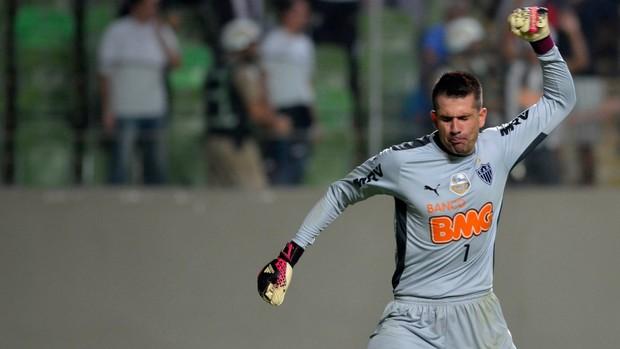 Victor Atlético-MG X Nacional-COL (Foto: AFP)
