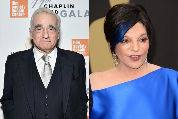 Martin Scorsese e Liza Minnelli (Foto: Getty Images)