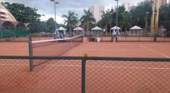 Quadra tênis Recra Ribeirão Preto (Foto: Divulgação / Sociedade Recreativa de Esportes)