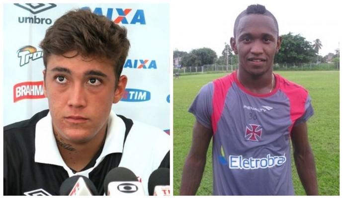 Romarinho e Yago vão reforçar o Macaé no Carioca (Foto:  Edgard Maciel/Diego Rodrigues/GloboEsporte.com)