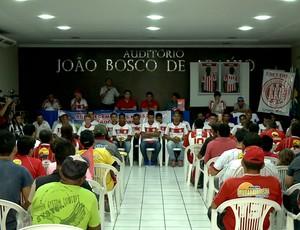 Apresentação do Esporte de Patos  (Foto: Reprodução / TV Paraíba)