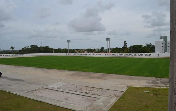 Estádio Ivan Tomaz, em João Pessoa