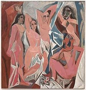 """Pablo Picasso. Le Demoiselles d""""Avignon (Foto: Reprodução)"""