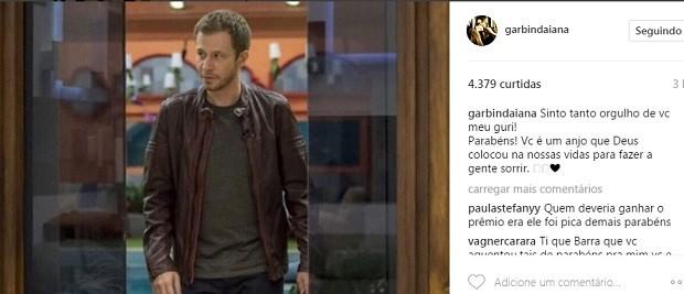 Post de Daiana Garbin (Foto: Reprodução/Instagram)