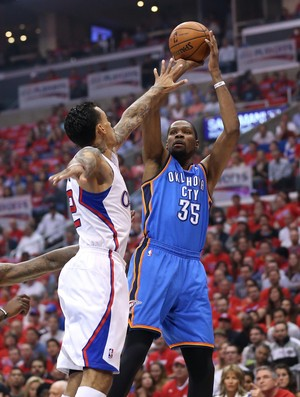 Kevin Durant, Oklahoma City Thunder, NBA, Los Angeles Clippers (Foto: Getty Images)