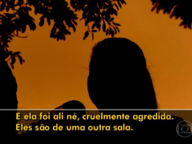 Mãe denunciou que três alunos teriam abusado de menina (Foto: TV Globo/Reprodução)