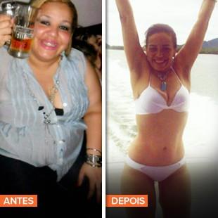 EuAtleta Minha História Lidyanne Siqueira antes depois_310 (Foto: Eu Atleta)