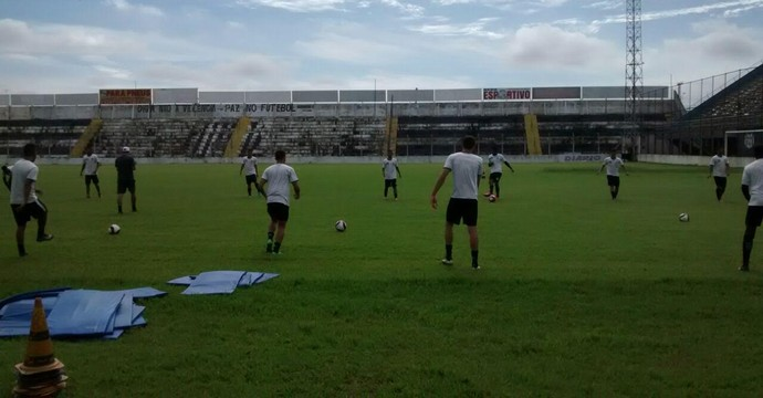 União Barbarense, treino (Foto: Divulgação União Barbarense)
