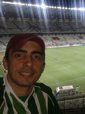 """""""Mamoré é meu time do coração"""", disse Marcos Henrique (Foto: Marcos Henrique/Arquivo Pessoal)"""