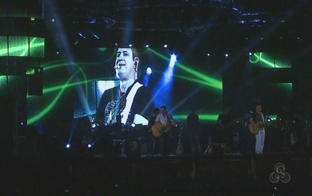 A apresentação marcou o penúltimo dia da Expoacre. (Foto: Acre TV)