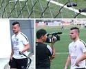 Jean Chera realiza primeiro treino após retorno ao Santos; veja como foi