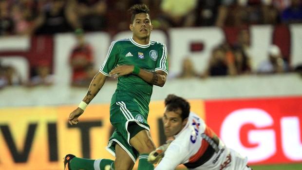 Leandro jogo Palmeiras contra Atlético-GO (Foto: Carlos Costa / Futura Press)