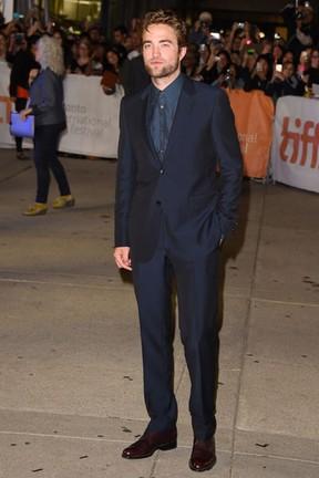Robert Pattinson em festival de cinema em Toronto, no Canadá (Foto: Jason Merritt/ Getty Images/ AFP)