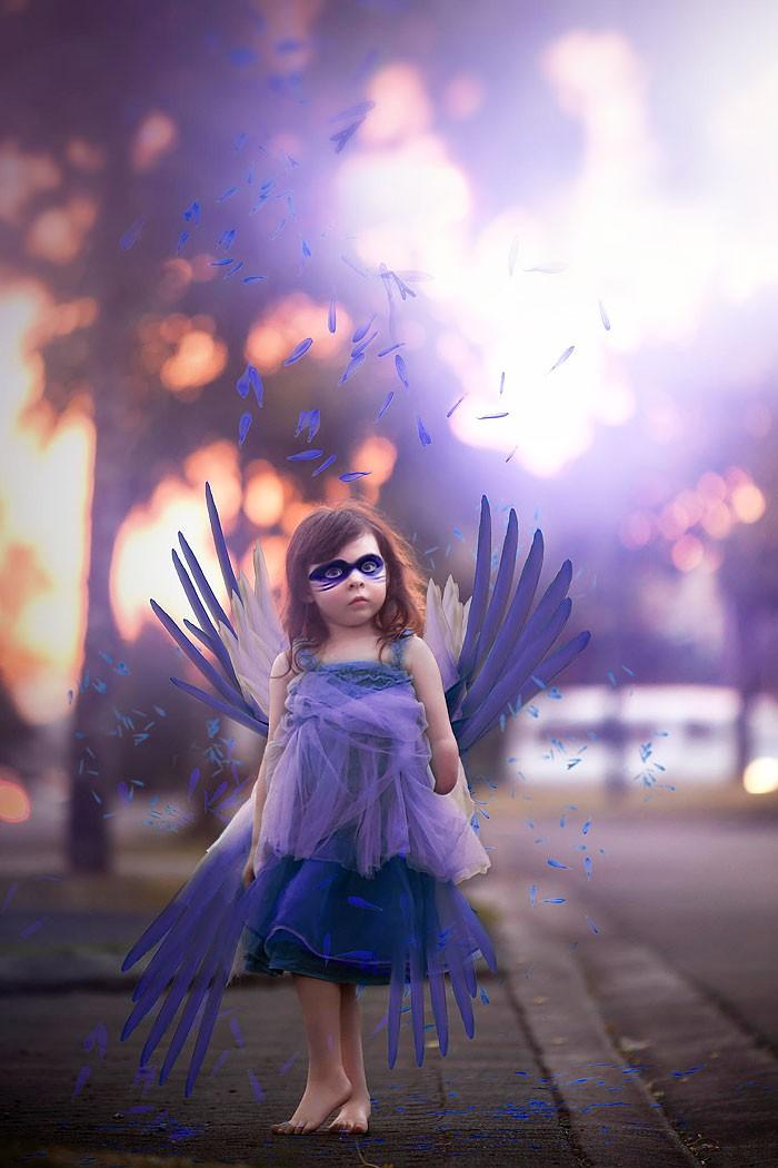 Mãe usa fotografia para driblar doença e ensinar filha a sonhar