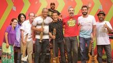 Sábado tem muito reggae com a banda Djambi, no Estúdio C (Bruno Vaz/RPC)