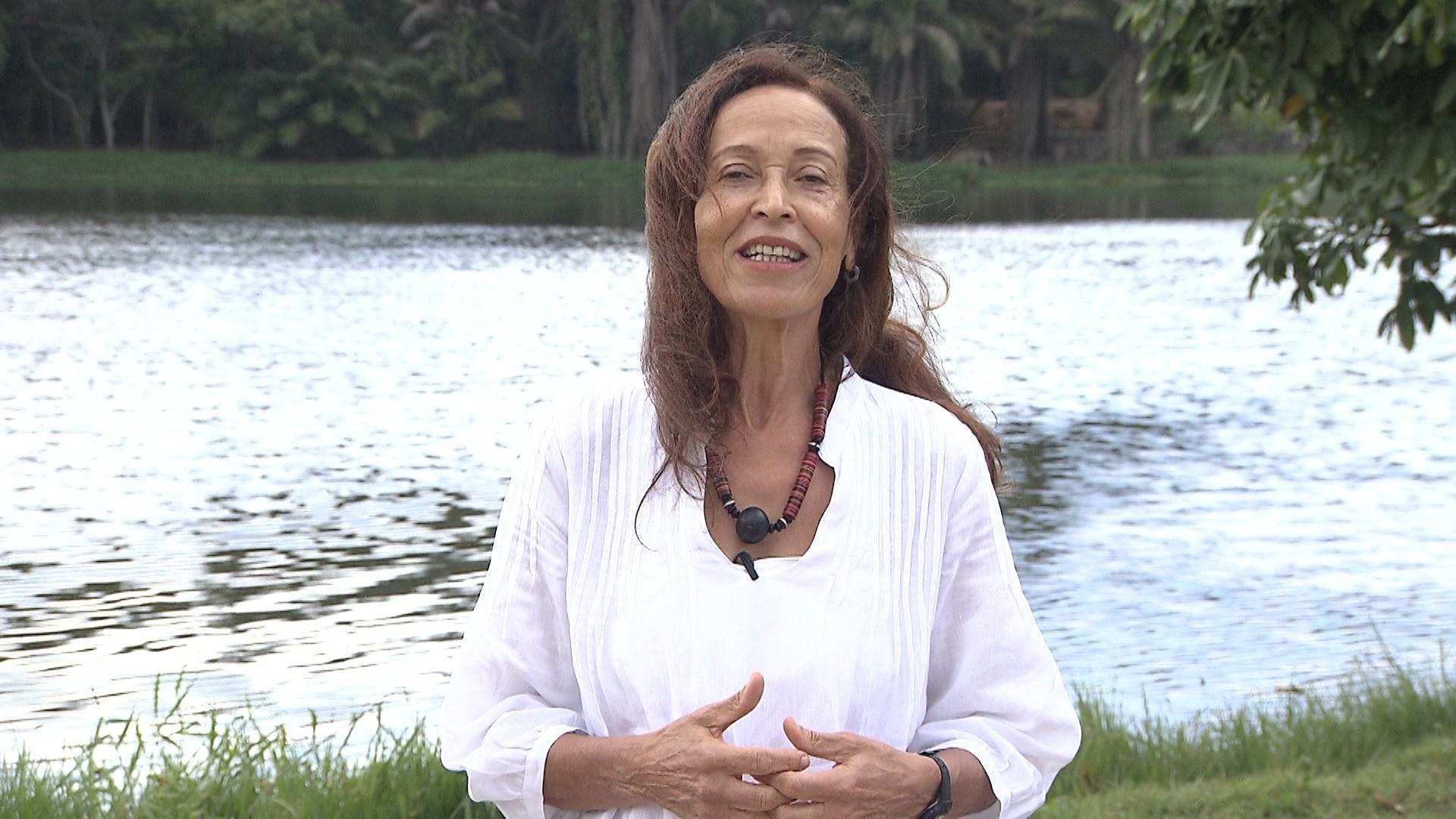 Doutora em hidrologia Yvonilde Medeiros pensa o bom uso do Rio São Francisco (Foto: Divulgação)