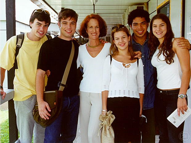 Fernanda Souza arrebentou como a adolescente Helô em Malhação, em 2000. (Foto: Cedoc / TV Globo)