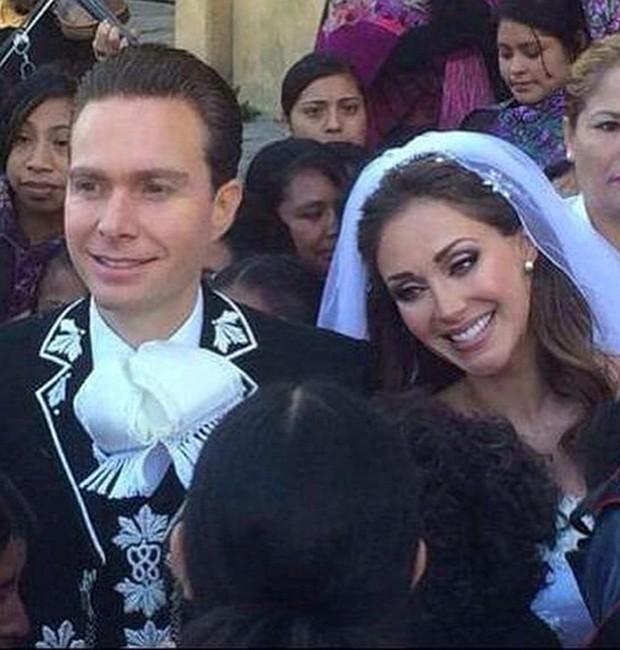 Anahí e Miguel Velasco (Foto: Reprodução/Instagram)
