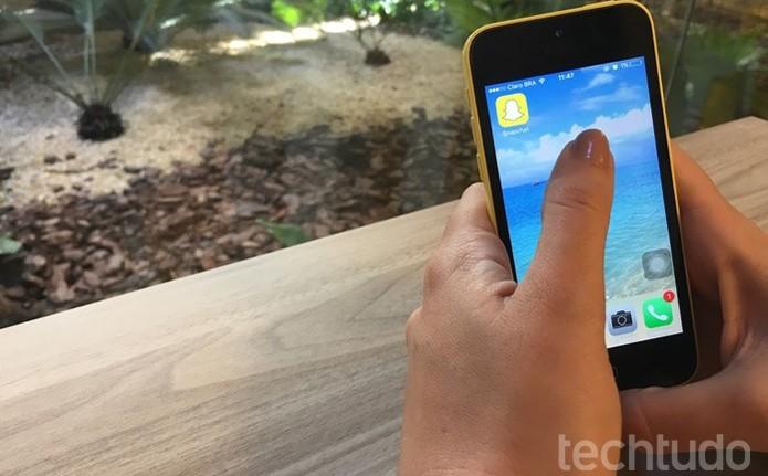 Os termos do Snapchat contam com diversas proibições (Foto:Camila Peres/TechTudo) (Foto: Os termos do Snapchat contam com diversas proibições (Foto:Camila Peres/TechTudo))