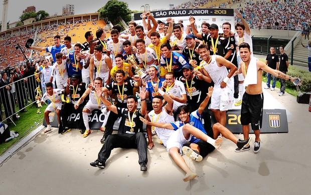 Santos campeão da copa são paulo junior (Foto: Marcos Ribolli / Globoesporte.com)