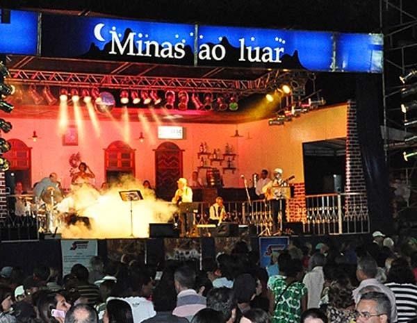 Minas ao Luar em Formiga (Foto: Minas ao Luar / Divulgação)