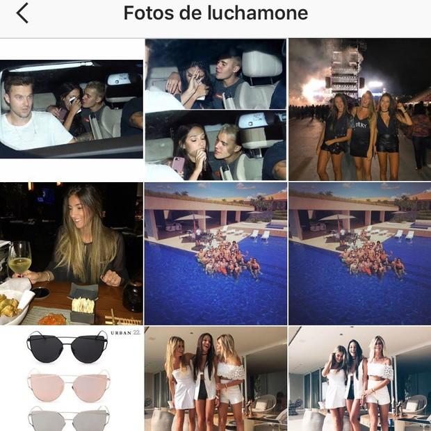 Fãs form rápidos em identificar Luciana Chamone e, no Instagram, começaram a marcá-la nas fotos no carro com Bieber (Foto: Instagram/Reprodução)