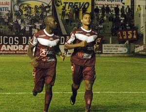 Jean Carlos atacante Atlético de Ibirama (Foto: Orlando Pereira/CAHA)