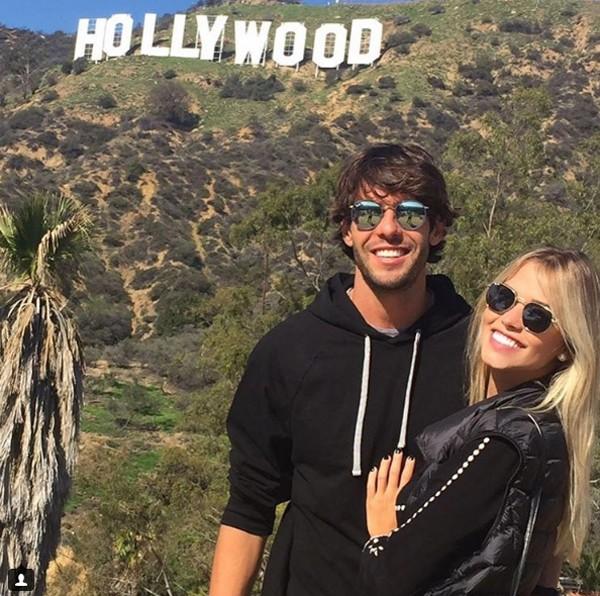 Kaka e Carol Dias (Foto: Reprodução / Instagram)