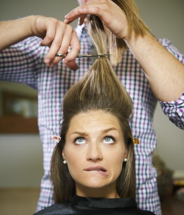 Corte de cabelo a seco (Foto: Thinkstock)