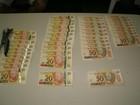 Quatro pessoas são presas com cerca de R$ 25 mil em notas falsas