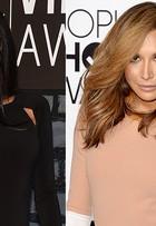 Naya Rivera, de 'Glee', aparece com cabelos mais claros; antes e depois