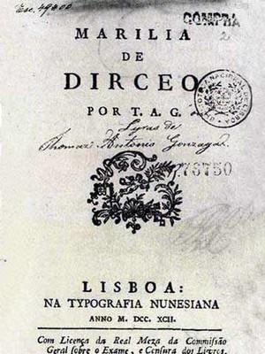 Marília de Dirceu, principal obra do autor (Foto: Reprodução)