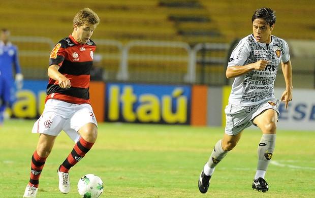 Thomás, Flamengo x Sport (Foto: Alexandre Vidal / Fla Imagem)
