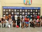 Operação 'Malhete 3' prende 35 pessoas em várias zonas de Manaus